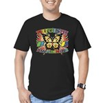 Autism Awareness Butterfly Men's Fitted T-Shirt (d