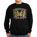 Autism Awareness Butterfly Sweatshirt (dark)