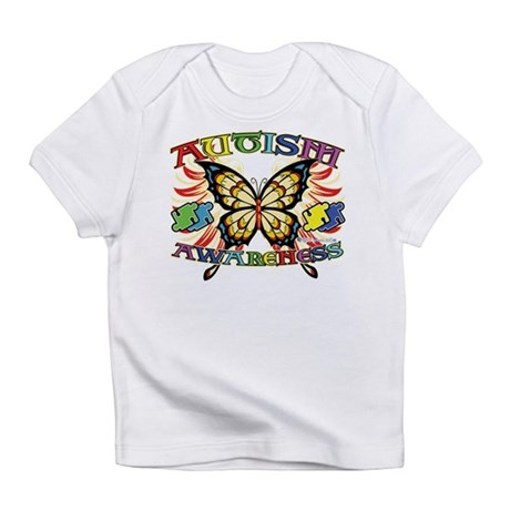 Autism Awareness Butterfly Infant T-Shirt