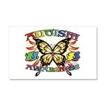 Autism Awareness Butterfly Car Magnet 20 x 12