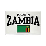 Made In Zambia Rectangle Magnet