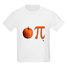 Pumpkin Pi Kids T-Shirt