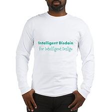 Disdain for Design (blue) Long Sleeve T-Shirt
