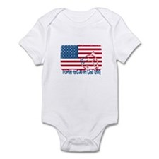 I was made in the USA Infant Creeper