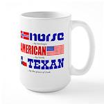 Large Mug - Heritage - Norse/American/Texan