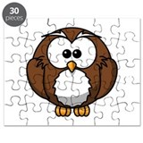 Cartoon Owl Puzzle