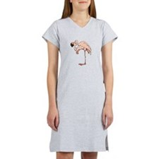 Pink Flamingo Women's Nightshirt