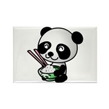 Baby Panda Rectangle Magnet (100 pack)