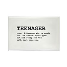 Teenager Rectangle Magnet (10 pack)