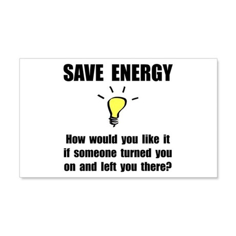 Save Energy 22x14 Wall Peel