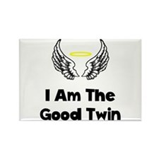I Am The Good Twin Rectangle Magnet (100 pack)