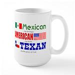 Large Mug - Heritage - Mexican/American/Texan