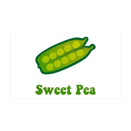 Sweet Pea 38.5 x 24.5 Wall Peel