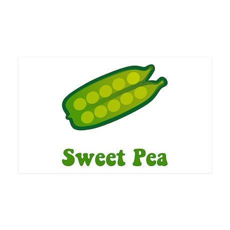 Sweet Pea 38.5 x 24.5 Wall Peel