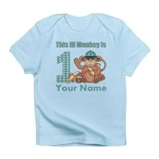 First Birthday Monkey Infant T-Shirt