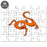 Cartoon Lizard Puzzle