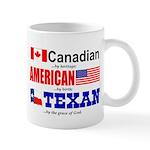 Mug - Heritage - Canadian/American/Texan