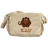 M is for Monkey! Messenger Bag