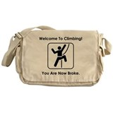 Welcome To Climbing! Messenger Bag