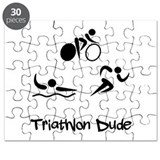 Triathlon Dude Puzzle