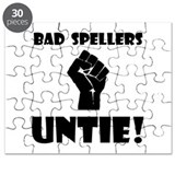 Bad Spellers Untie! Puzzle
