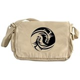 Dragon Ying Yang Messenger Bag