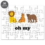 Lions Tigers Bears Oh My Puzzle