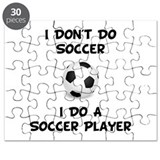 Do A Soccer Player Puzzle