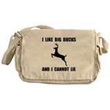 I Like Big Bucks Messenger Bag