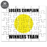 Tennis Winners Train Puzzle
