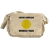 Tennis Winners Train Messenger Bag