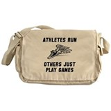 Athletes Run Messenger Bag