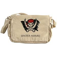 Pirate Flag Personalize! Messenger Bag