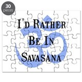 Rather Be In Savasana Puzzle