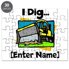 I Dig...[Personalize It!] Puzzle
