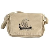 Viking Ship Messenger Bag