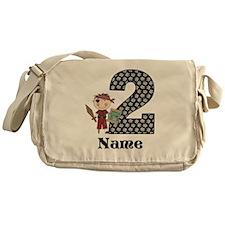 2nd Birthday Pirate Messenger Bag