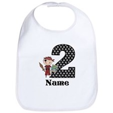2nd Birthday Pirate Bib