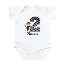 2nd Birthday Pirate Infant Bodysuit
