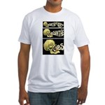 L'Absinthe c'est la mort II Fitted T-Shirt