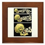 L'Absinthe c'est la mort II Framed Tile