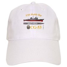 USS Mobile Bay CG-53 Baseball Cap