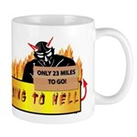 Going to Hell? Mug