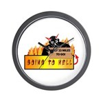 Going to Hell? Wall Clock