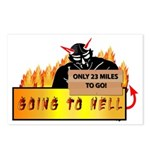 Going to Hell? Postcards (Package of 8)