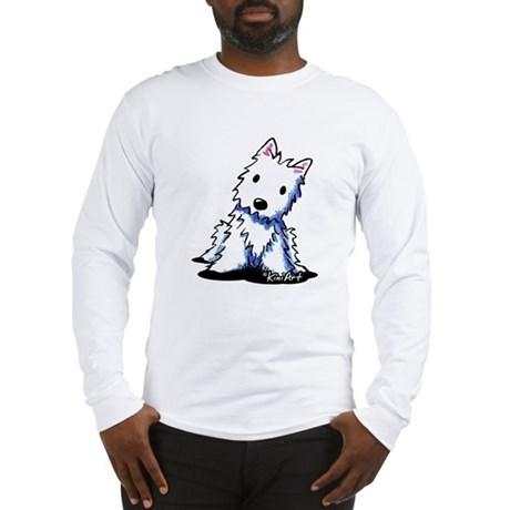Vintage KiniArt Westie Long Sleeve T-Shirt