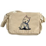 Vintage KiniArt Westie Messenger Bag