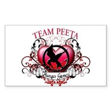 Team Peeta Decal