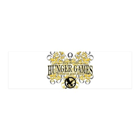 Hunger Games 42x14 Wall Peel