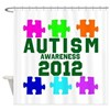 Autism Awareness 2012 Shower Curtain